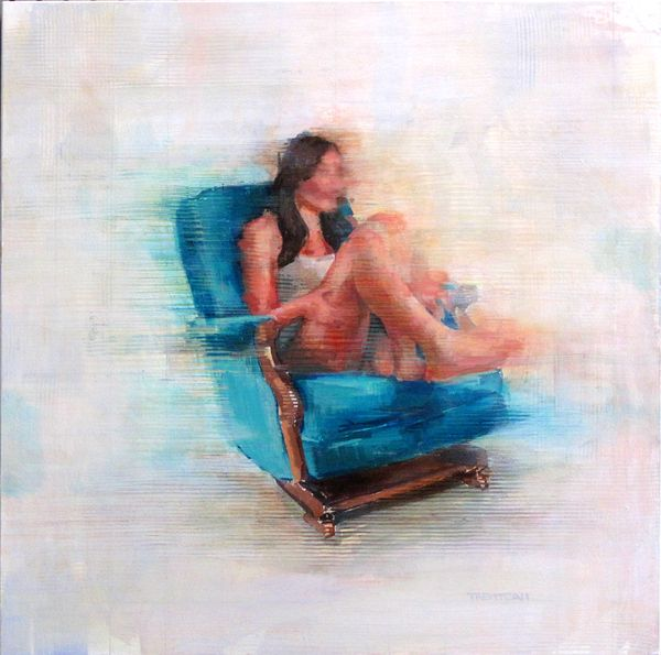 Summer Paintings / 2012 by Trent Call, via Behance