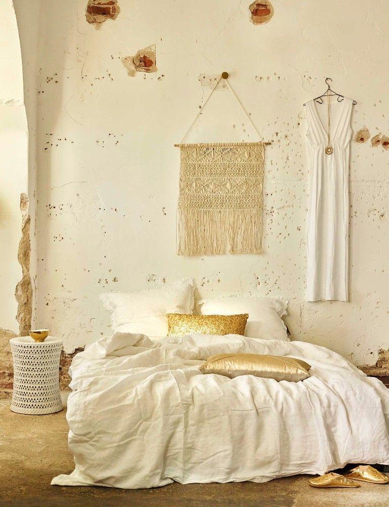 Arredare In Bianco E Oro Idee Per Interni Interni Camera Da Letto Decorazione Camera Da Letto