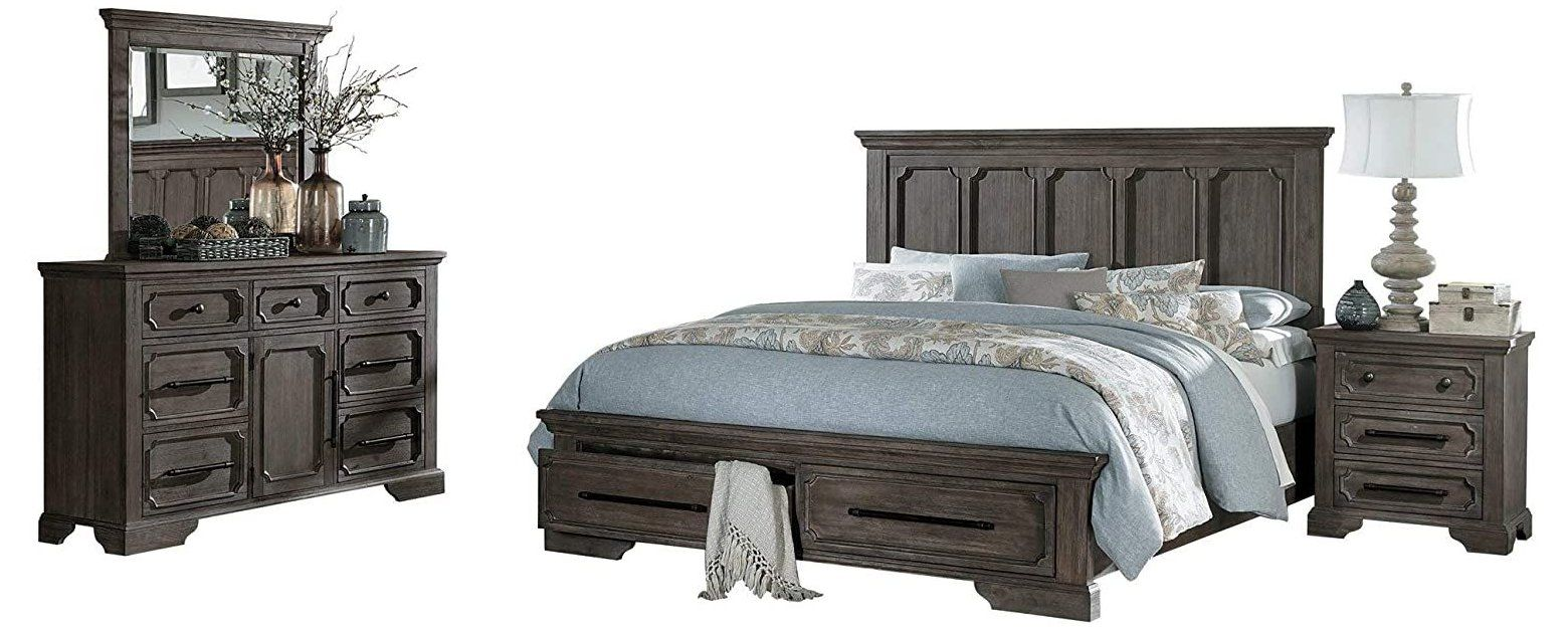 bedroom furniture sets clearance queen wood Thiara