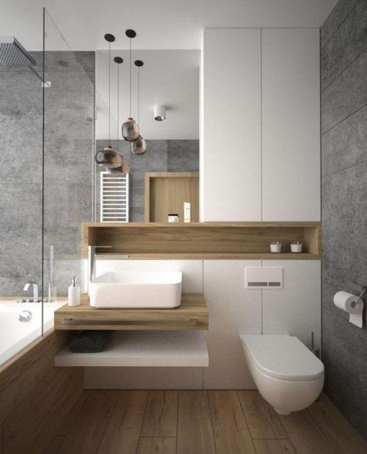 53 Small Bathroom Design Ideas Apartment Therapy 24 Autoblog Small Apartment Bathroom Small Bathroom Remodel Small Bathroom