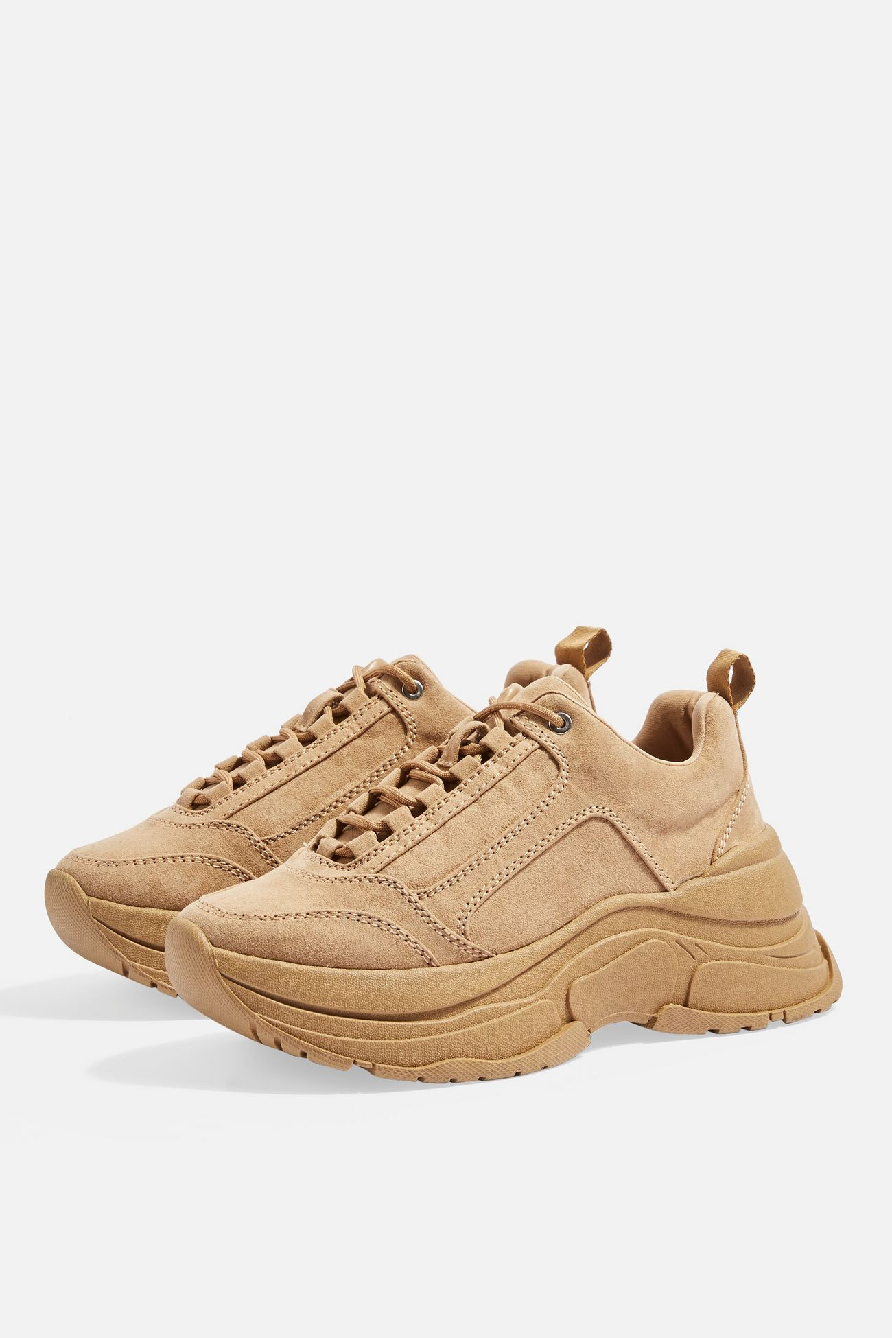 05eaf83facf6 CELINA Tan Chunky Trainers in 2019 | TOPSHOP | Trainers, Bag accessories