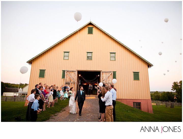 Modern Barn Wedding At Living History Farms