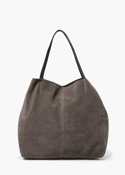 Suede shopper bag   MANGO   bags and purses   Bags, Shopper bag, Purses b1a5284248a4