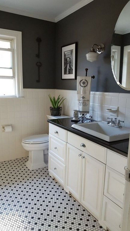 9+ Gorgeous Minimalist Classic Bathroom Design and Decor Ideas