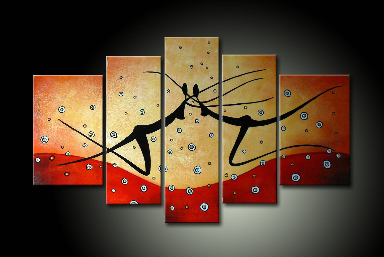 Cuadros abstractos modernos pintura en cuadro arte moderno - Ideas para pintar cuadros ...