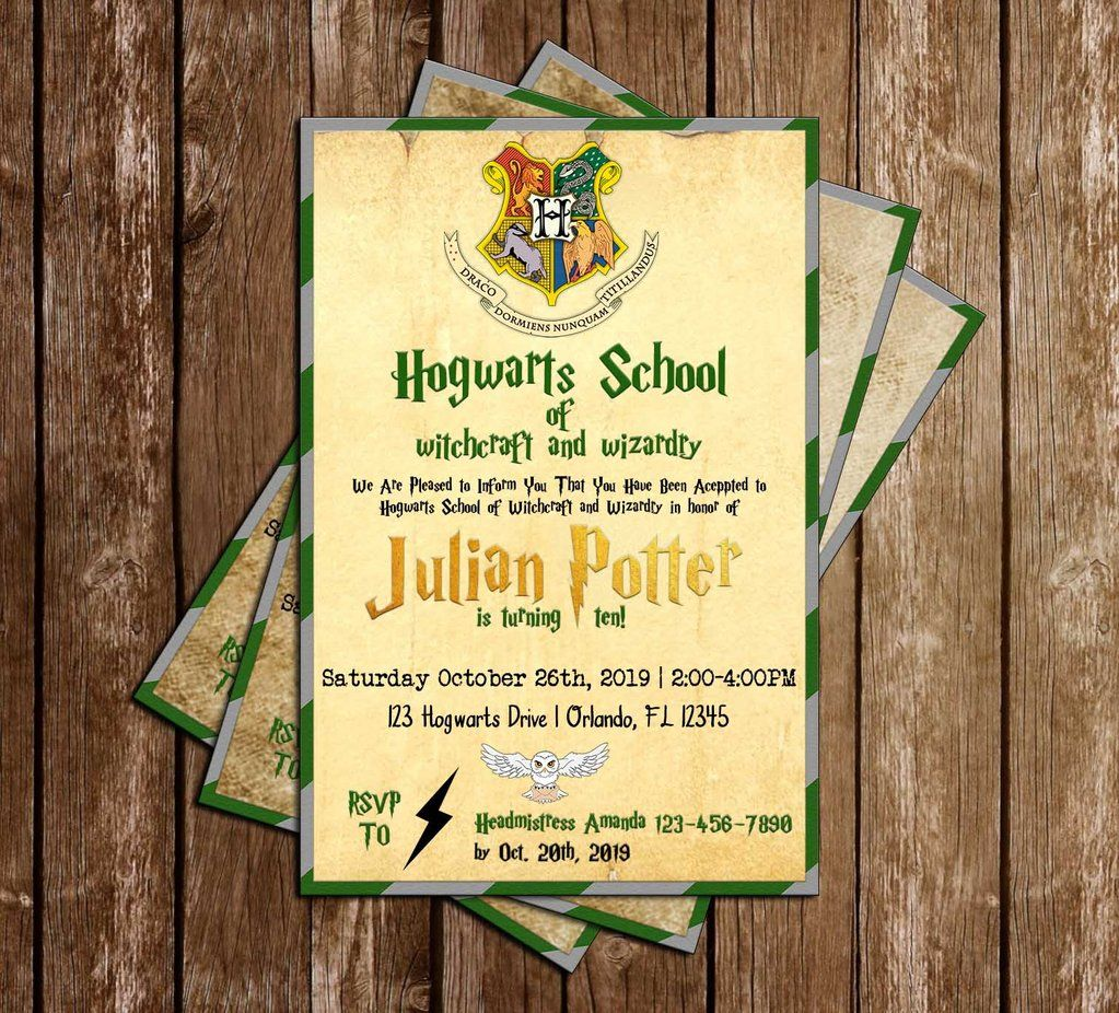 Harry potter hogwarts slytherin birthday party