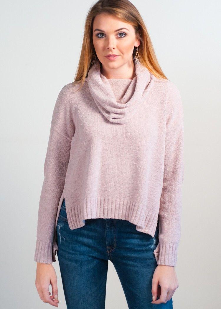 BB Dakota Marcily Cropped Sweater | Dakota style, Bb and Cowl neck
