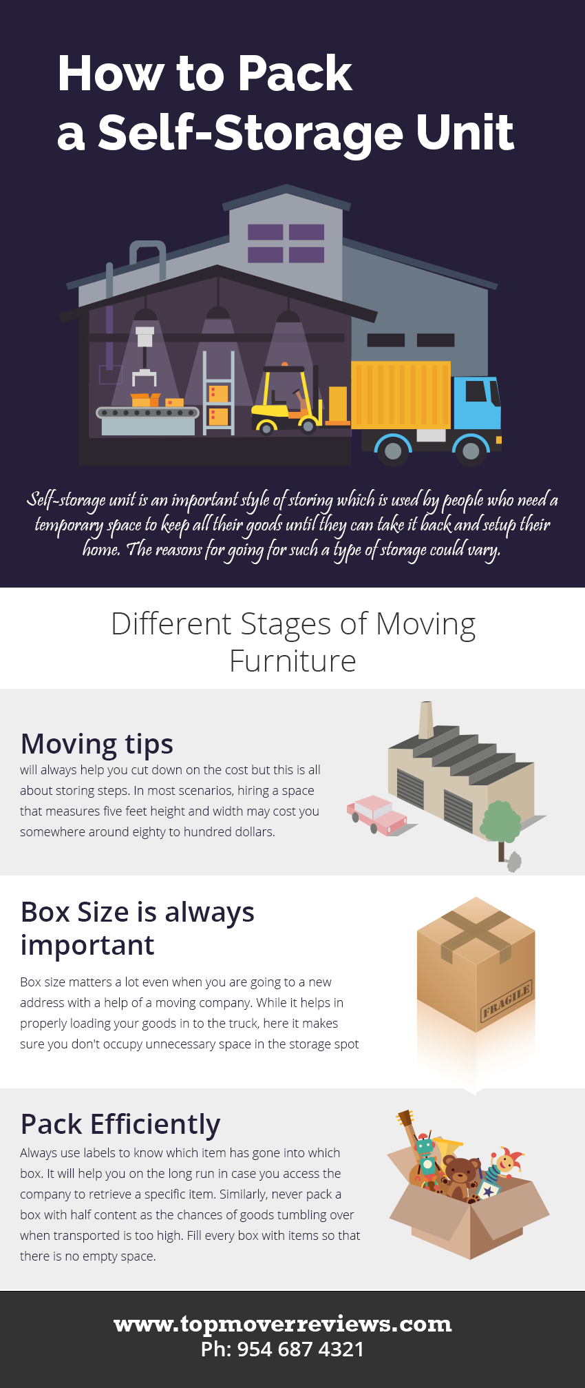 How to Pack for Self Storage foto