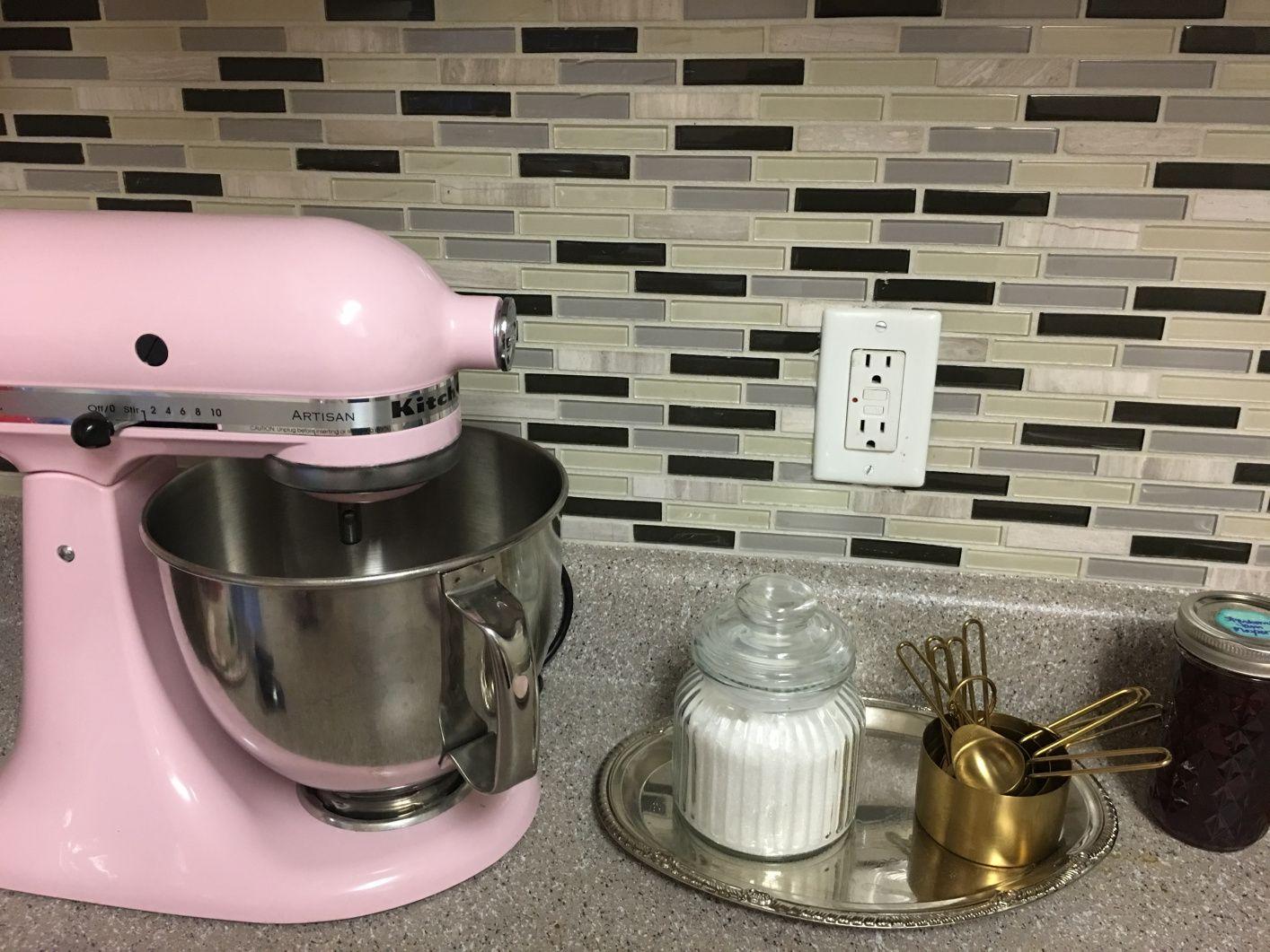 kitchenaid measuring spoons pink