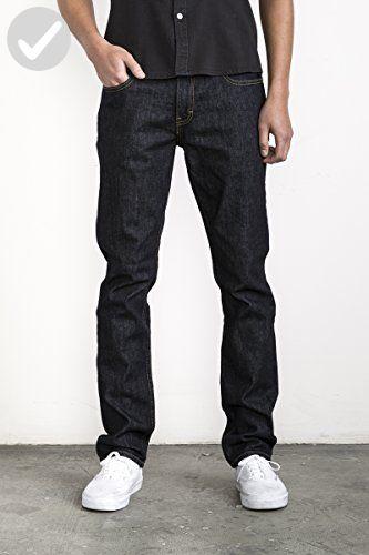 RVCA Mens Daggers Slim-Fit Stretch Jean