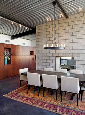 Google image result for - Interior cinder block wall covering ...
