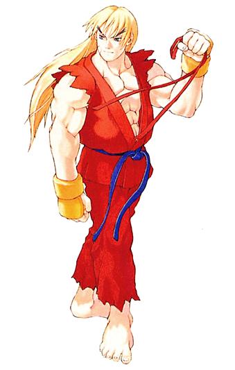 Ken Masters Street Fighter Art Street Fighter Alpha Street Fighter