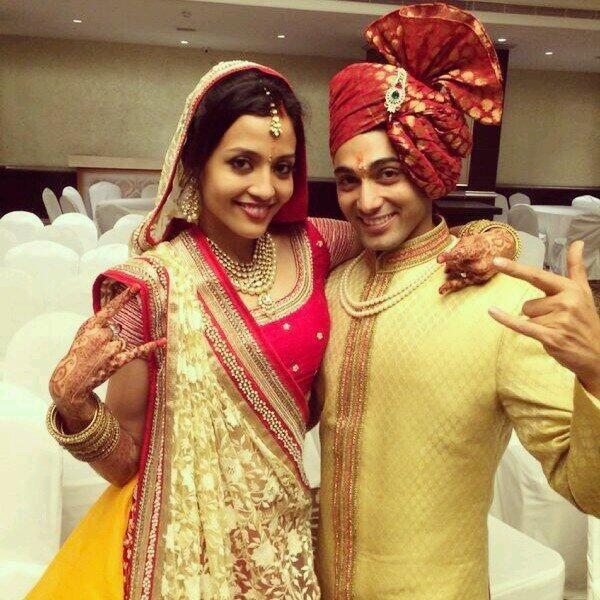 Ruslaan Mumtaz and Nirali Mehta get married as per Hindu rites