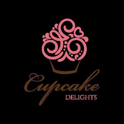 Cupcake Bakery Logo Ideas Unique Cool Delight Luxurious Ice Creams
