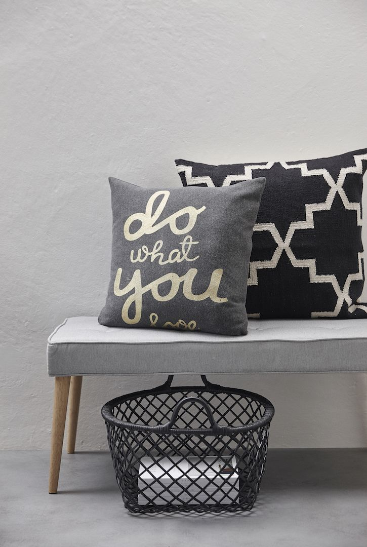 korb mit tragegriff 2tlg aus rattan schwarz von h bsch interior deko pinterest h bsch. Black Bedroom Furniture Sets. Home Design Ideas