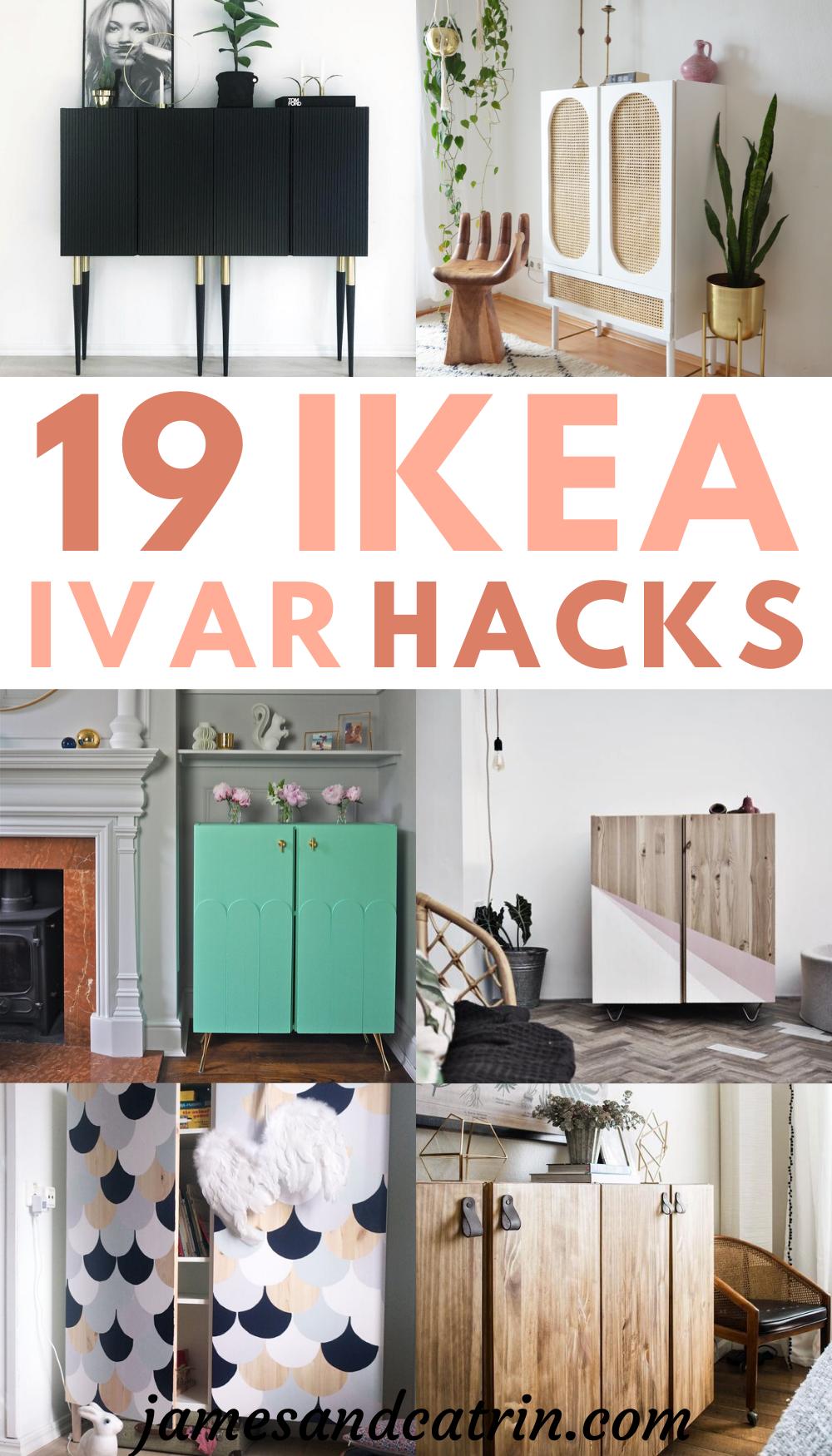 19 Ikea Ivar Hacks That Make Storage Beautiful In 2020 Ikea Ivar