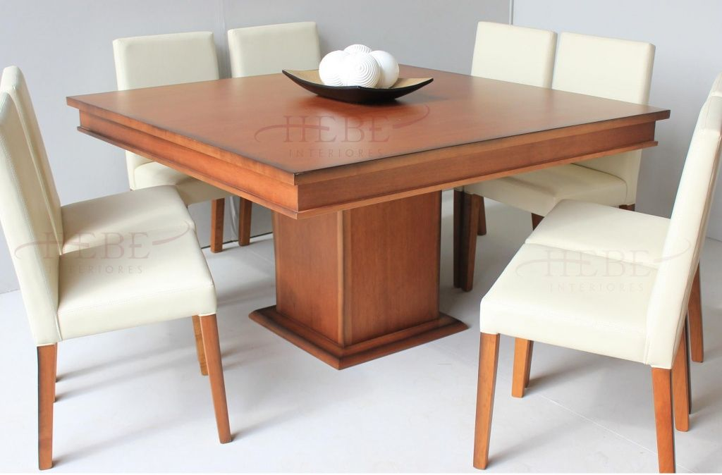Resultado de imagen para mesas comedor cuadrada | comedor casa ...