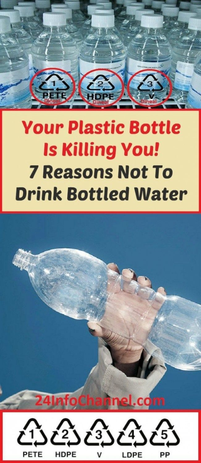 Drinking From Plastic Bottles Is Dangerous To Our Health ...