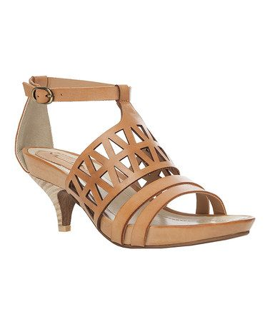 Look what I found on #zulily! Tobacco Mac Leather Sandal by Maxstudio.com #zulilyfinds