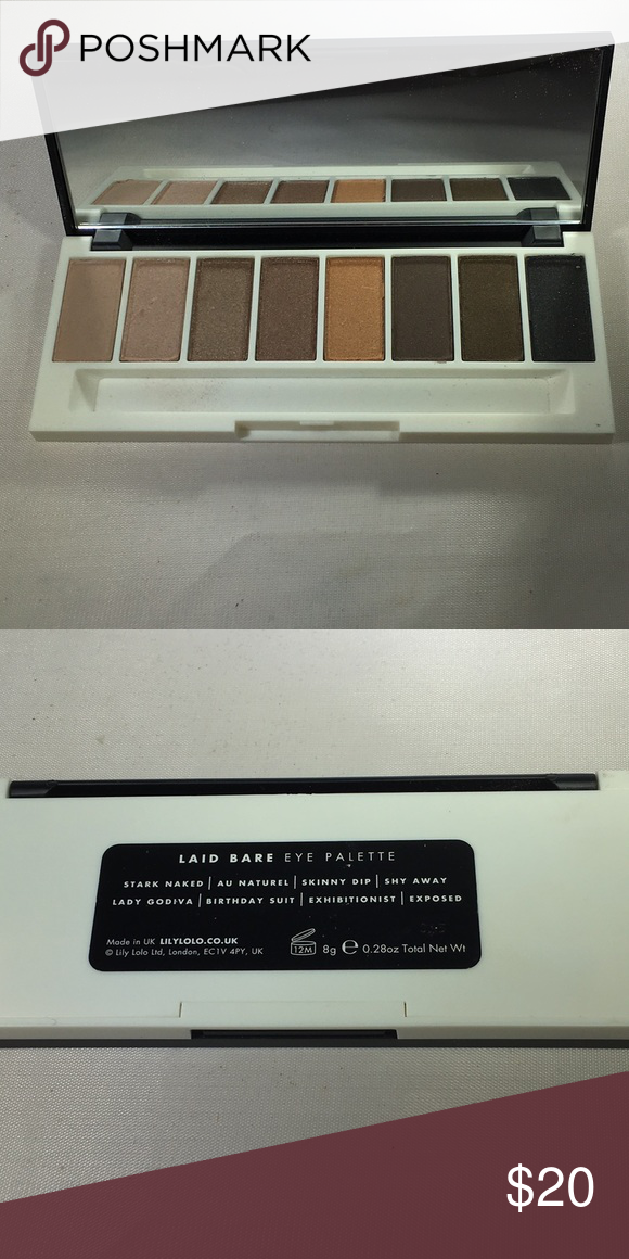 New Lily Lolo laid bare eyeshadow palette New Lily Lolo laid bare eyeshadow palette   No brush Lily Lolo Makeup Eyeshadow #lilylolo New Lily Lolo laid bare eyeshadow palette New Lily Lolo laid bare eyeshadow palette   No brush Lily Lolo Makeup Eyeshadow #lilylolo