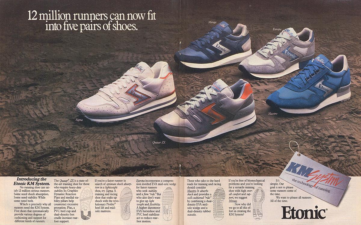 Etonic 1985 · Vintage SneakersFred ...
