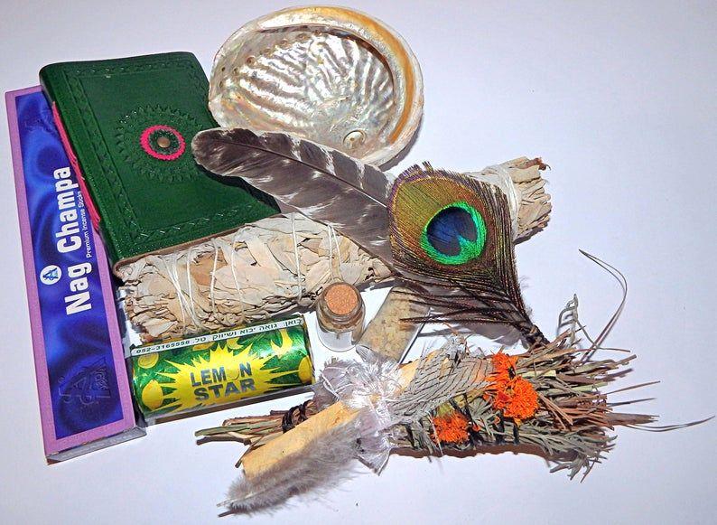 Dream journal spiritual gift box smudge box healing