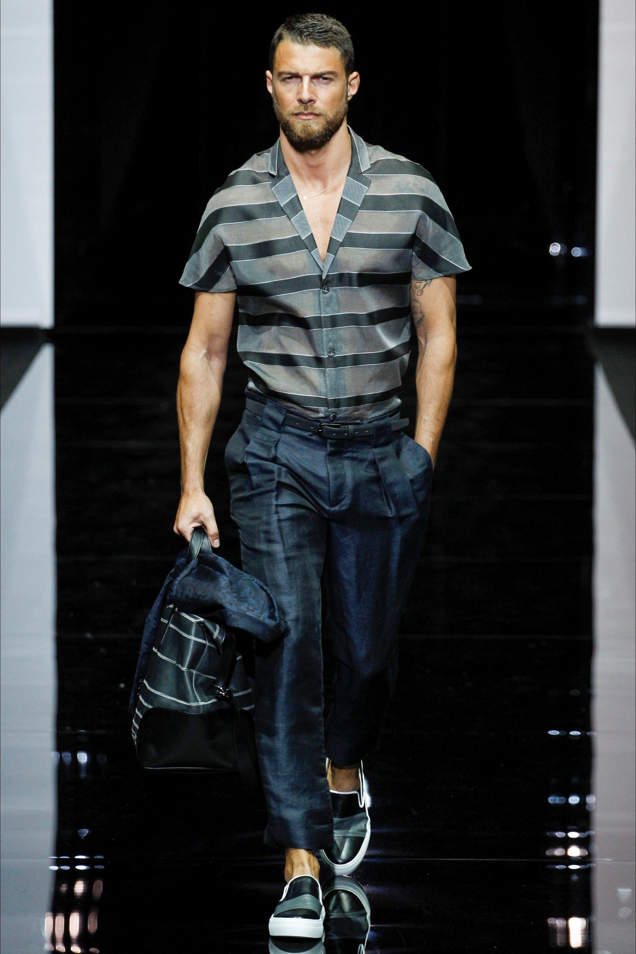 Emporio Armani - Men Fashion Spring Summer 2015 - Shows - Vogue.it