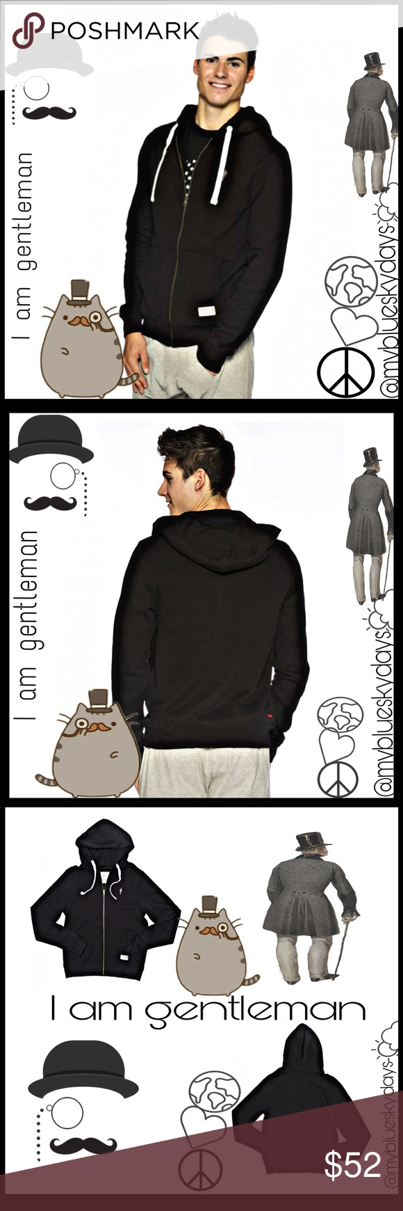 I Am Gentleman Hoodie Awesome Hoodie With A Subtle I Am