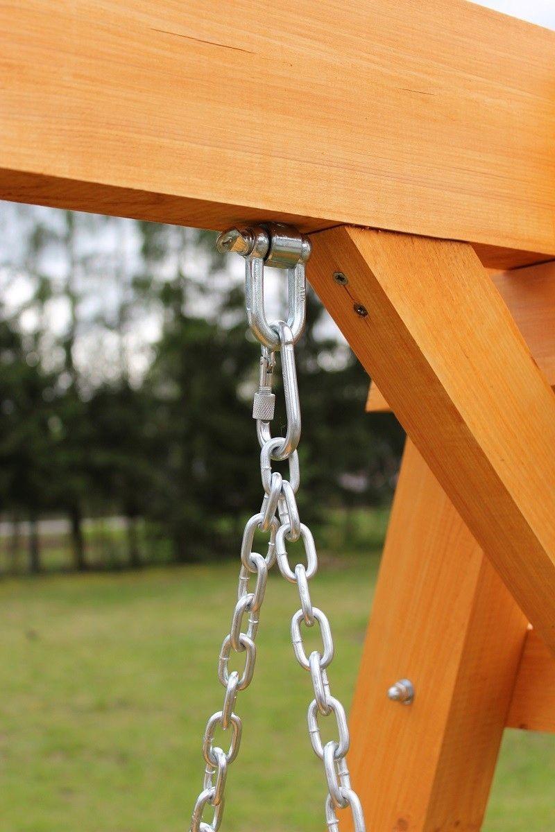 Hustawka Ogrodowa Drewniana 3 Osobowa Producent 8897972977 Oficjalne Archiwum Allegro Porch Swing Frame Pallet Furniture Outdoor Wood Swing