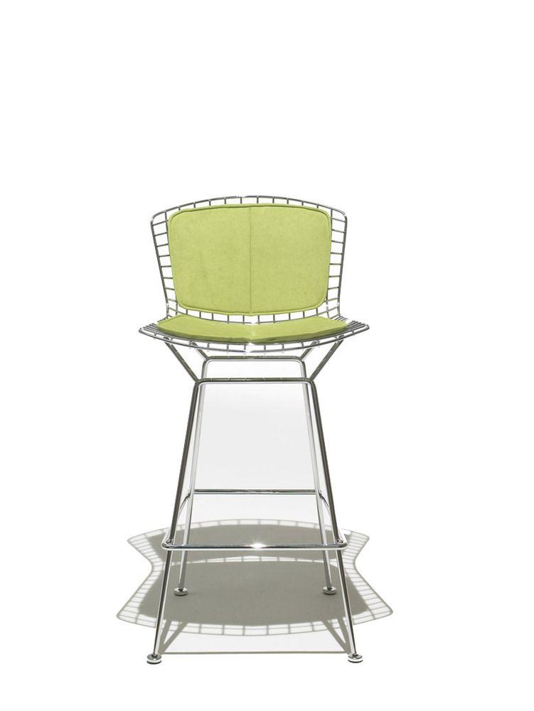 Bertoia Barstool with Seat Cushion