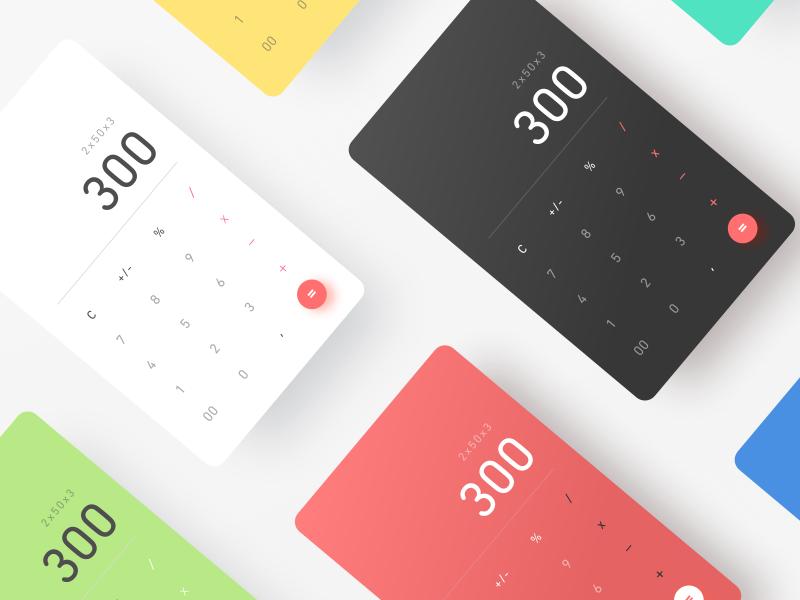 DailyUI 004 Calculator Calculator design, Calculator