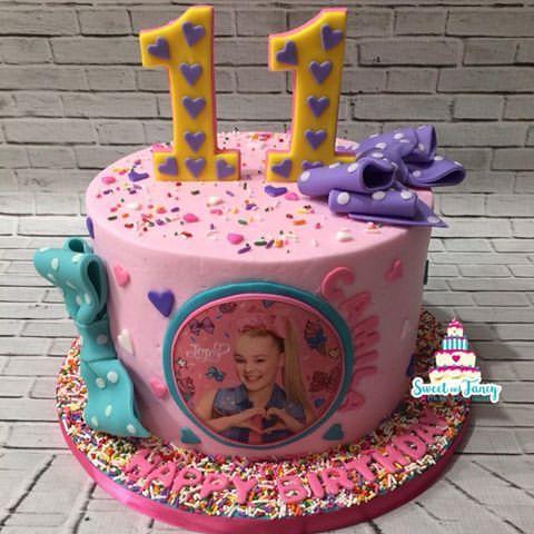 Resultado De Imagen Para Jojo Siwa Birthday Cakes Tortas