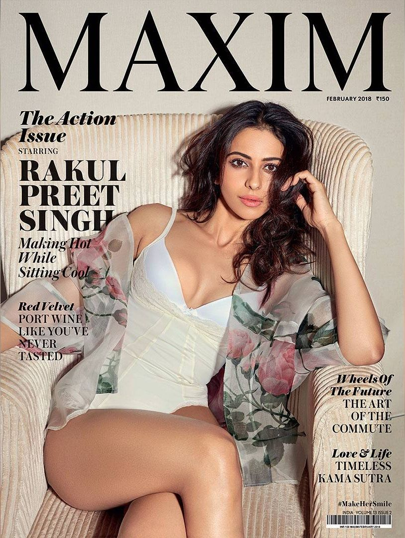 Image result for rakul in magazine cover