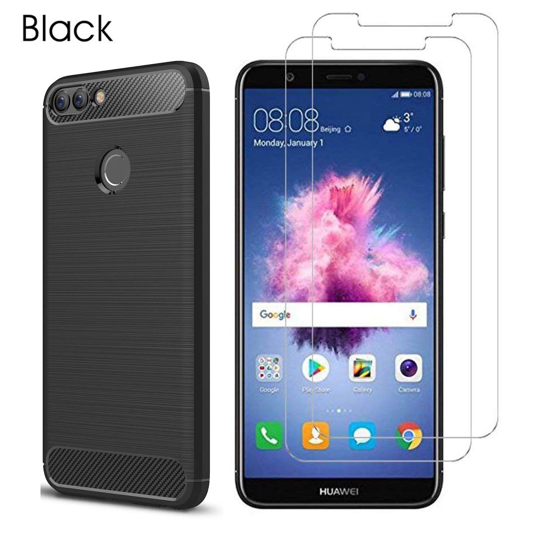 Amazon Com Mylb Compatible With Huawei P Smart Case Huawei Enjoy 7s Case With Huawei P Smart Enjoy 7s Screen Protector 3 In 1 Scra Screen Protector Iphone
