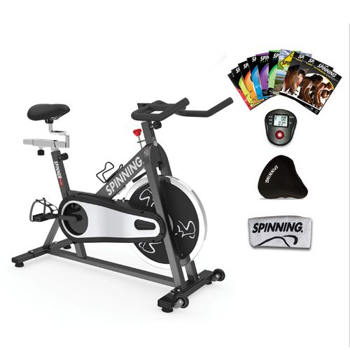 Spinner Sport Ultimate Package Patented Spinner Exercise Bikes Parts And Accessories Indoor Cycling Bike Best Exercise Bike Biking Workout