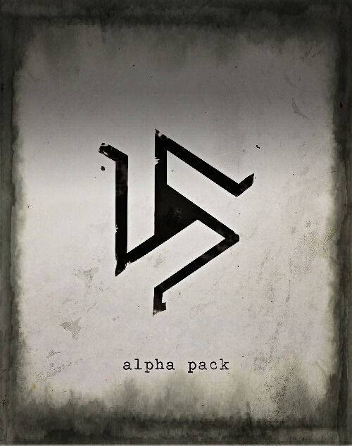 Tribal Alpha Wolf Tattoo