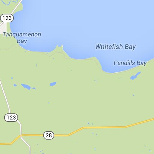 Tahquamenon Falls State Park Scenic Route Google Maps