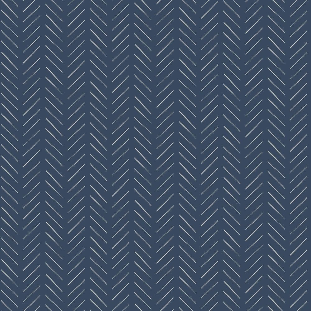PickUp Sticks Wallpaper in Blue from the Magnolia Home