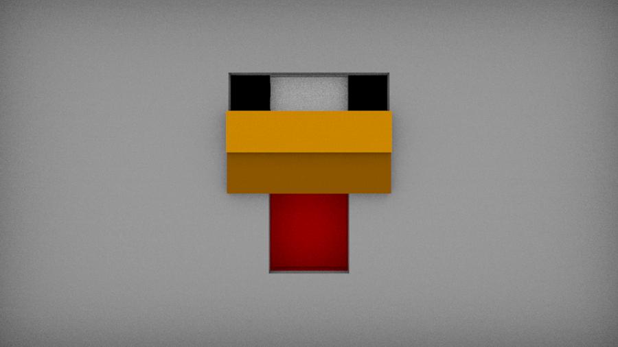 Minecraft Chicken By Blackoptics8 Deviantart Com On