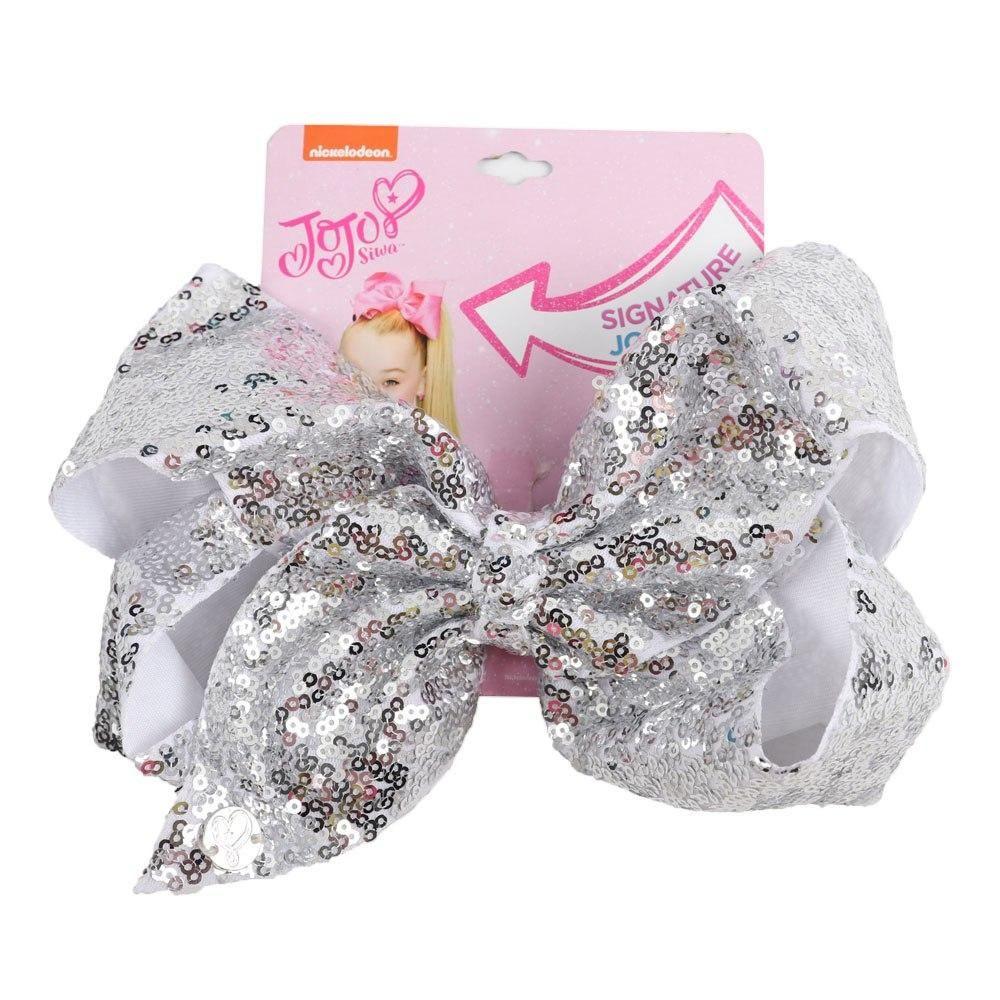 "8/"" Rainbow Rhinestone Hair Bows Hair Clip For Girls Kids Large Knot Bow Hairgrip"
