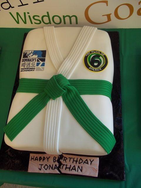 Martial Arts Cake Decorations