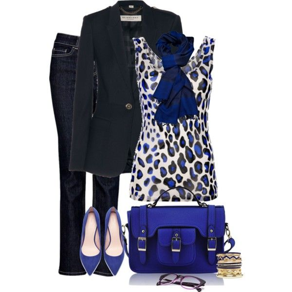 """BLUE"" by lisa-holt on Polyvore"