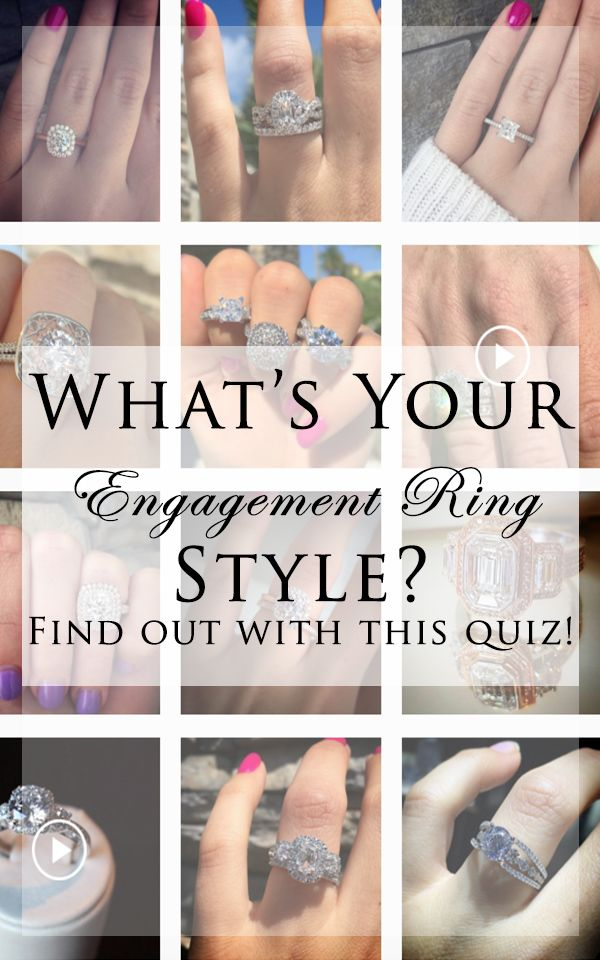 Want To Find The Perfect Ring Take This Engagement Ring Style Quiz Now Raymond Lee Jewelers Wedding Ring Quiz Engagement Ring Quiz Types Of Wedding Rings