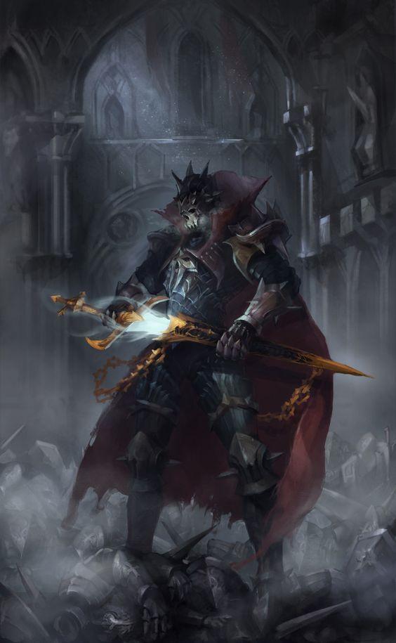 death knight, Jaeseong Park on ArtStation at https://www.artstation.com/artwork/5KPx8: