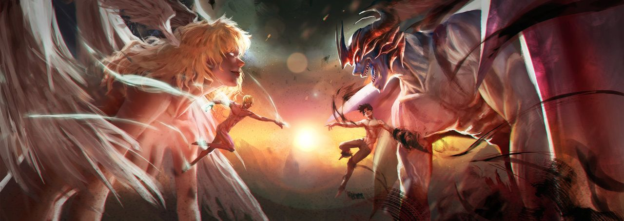 The Beginning Of The End By Fate Fiction Devilman Crybaby Asuka Fate