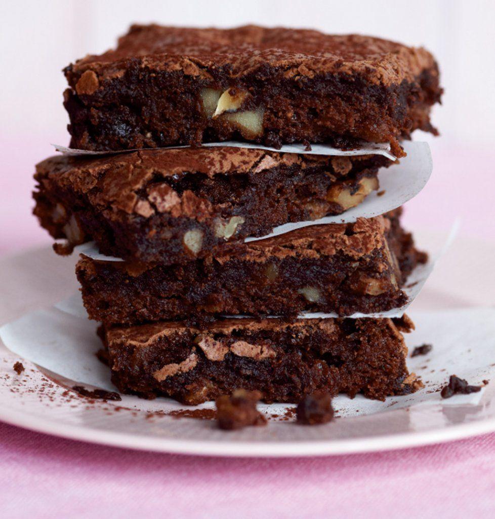 Schokoladen brownie kuchen rezept