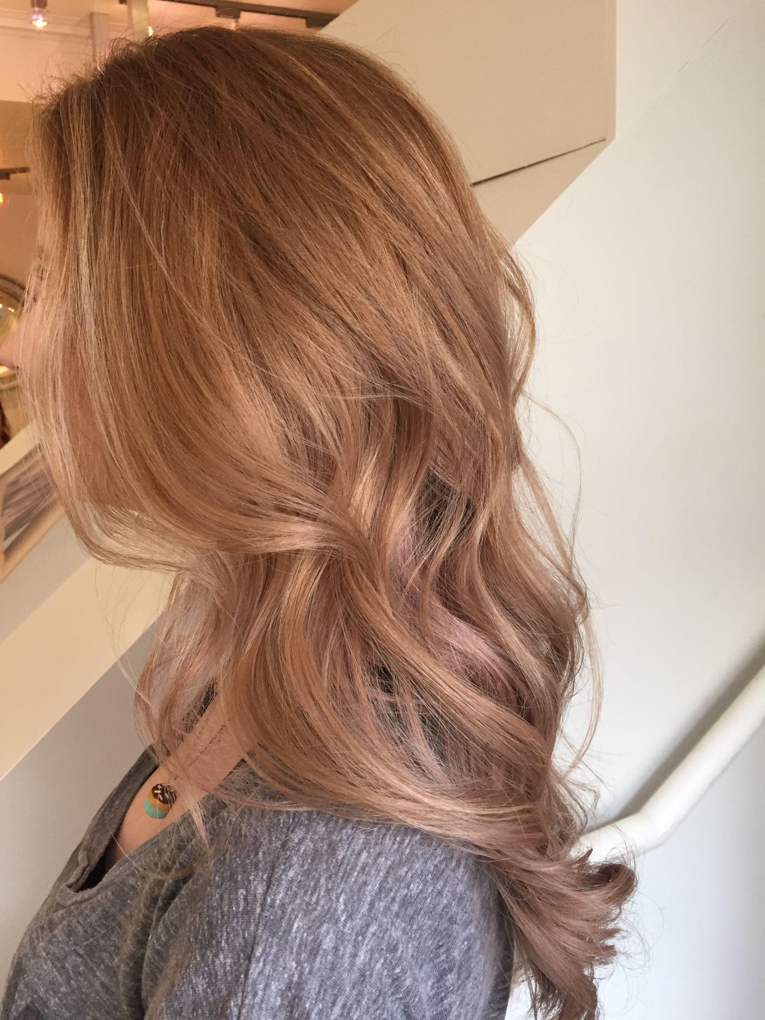 Rose Gold Gold Blonde Hair Honey Blonde Hair Strawberry Blonde