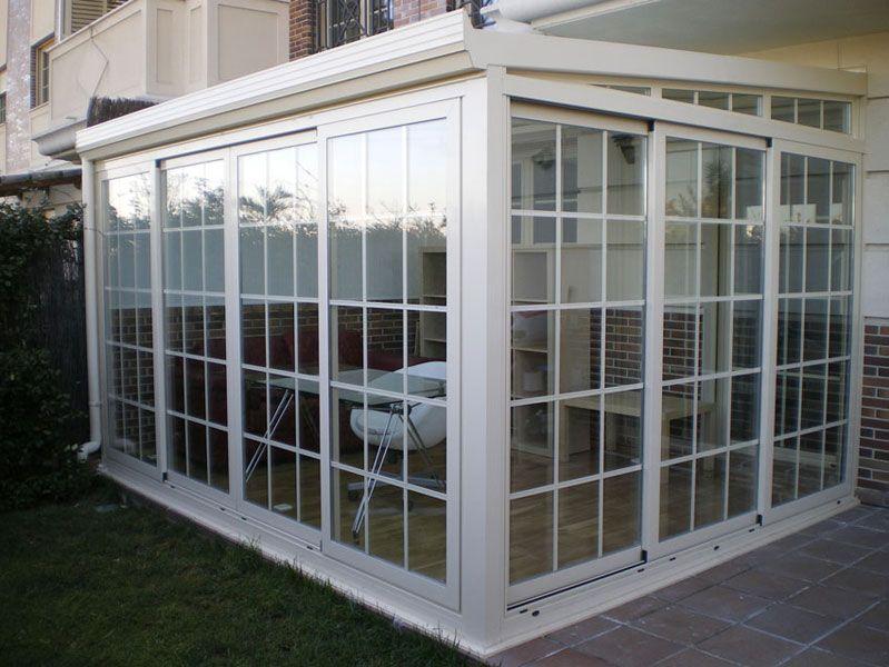 Risultati immagini per porches cerrados de cristal house - Cerramientos de aluminio para porches ...