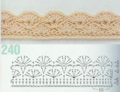 262 crochet patterns Pattern #240