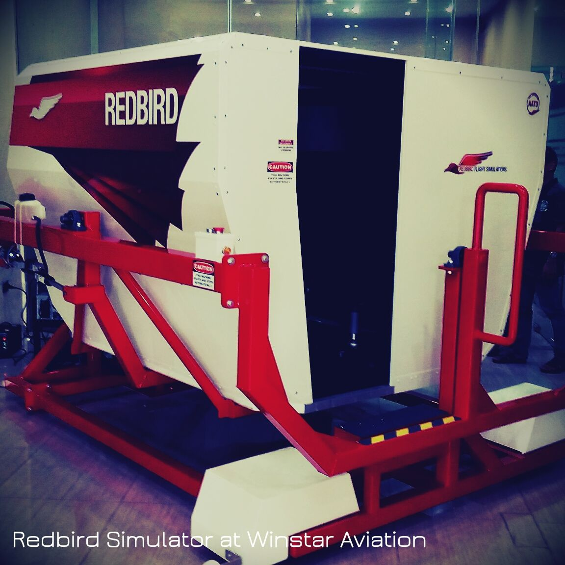 Redbird FMX Flight Simulator at Winstar Aviation Office
